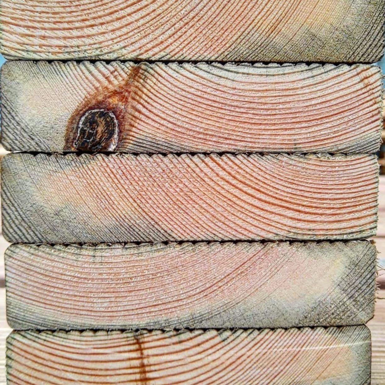 impregnated wood